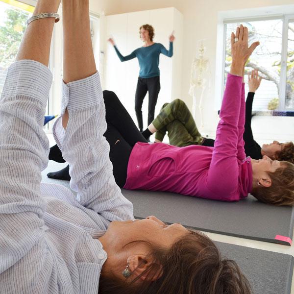 Awareness Through Movement class at Uplift Feldenkrais Studio in Vancouver, BC