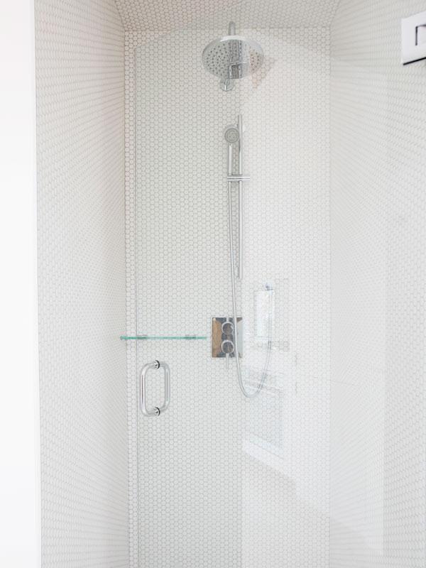 Shower in Uplift Feldenkrais Studio in Vancouver, BC